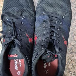 Sparx Black Sports Shoes